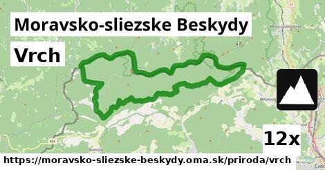 ilustračný obrázok k Vrch, Moravsko-sliezske Beskydy