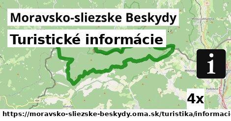 ilustračný obrázok k Turistické informácie, Moravsko-sliezske Beskydy