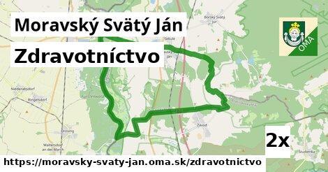 zdravotníctvo v Moravský Svätý Ján