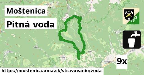 pitná voda v Moštenica