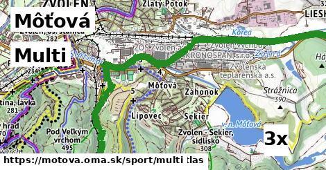 multi v Môťová