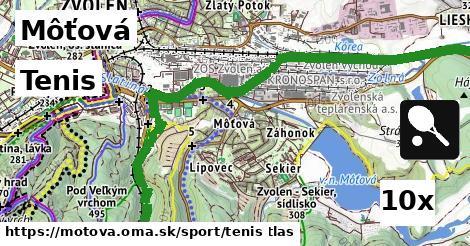 tenis v Môťová