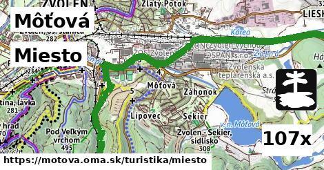 ilustračný obrázok k Miesto, Môťová