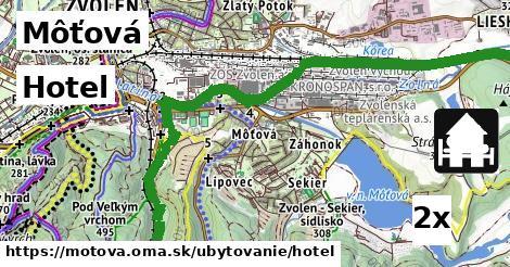 hotel v Môťová