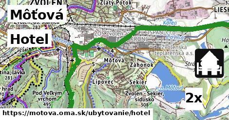 ilustračný obrázok k Hotel, Môťová