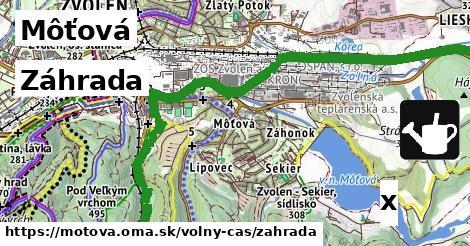 ilustračný obrázok k Záhrada, Môťová