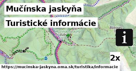 ilustračný obrázok k Turistické informácie, Mučínska jaskyňa