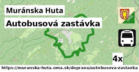 ilustračný obrázok k Autobusová zastávka, Muránska Huta