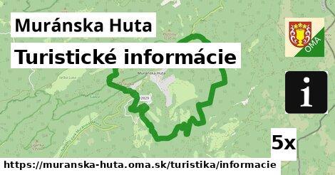 turistické informácie v Muránska Huta