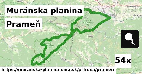 ilustračný obrázok k Prameň, Muránska planina