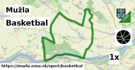 basketbal v Mužla