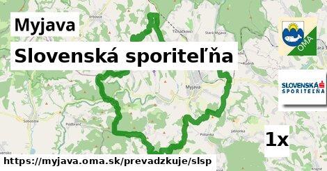 ilustračný obrázok k Slovenská sporiteľňa, Myjava