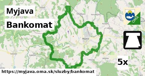ilustračný obrázok k Bankomat, Myjava