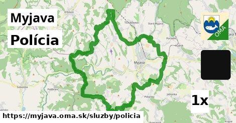 ilustračný obrázok k Polícia, Myjava