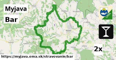 Bar, Myjava