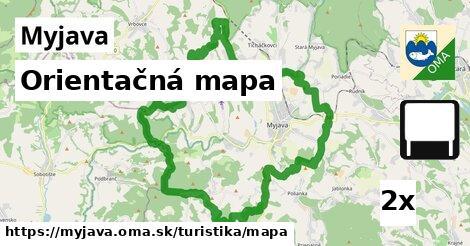 ilustračný obrázok k Orientačná mapa, Myjava