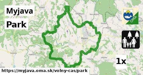 Park, Myjava