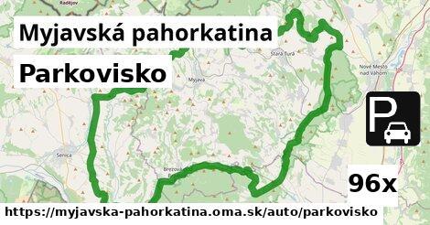 ilustračný obrázok k Parkovisko, Myjavská pahorkatina