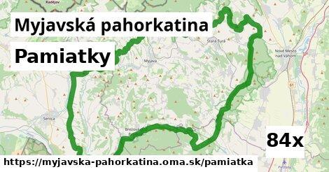pamiatky v Myjavská pahorkatina