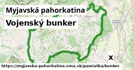 vojenský bunker v Myjavská pahorkatina