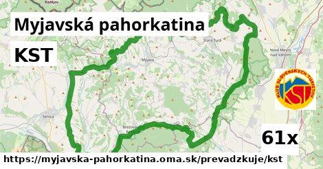 KST v Myjavská pahorkatina