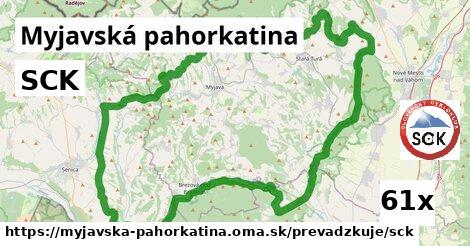 ilustračný obrázok k SCK, Myjavská pahorkatina