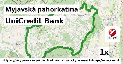 UniCredit Bank v Myjavská pahorkatina