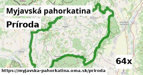 príroda v Myjavská pahorkatina