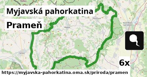 prameň v Myjavská pahorkatina
