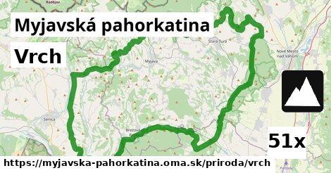 vrch v Myjavská pahorkatina