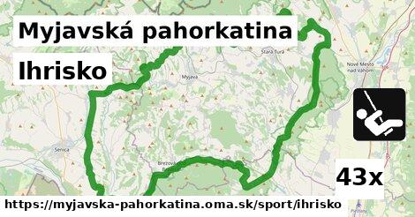 ilustračný obrázok k Ihrisko, Myjavská pahorkatina