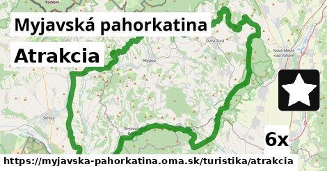 ilustračný obrázok k Atrakcia, Myjavská pahorkatina