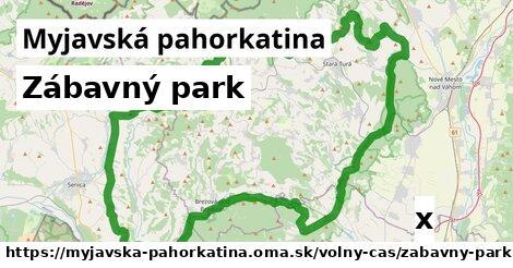 zábavný park v Myjavská pahorkatina