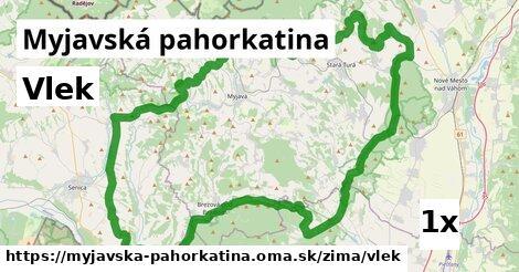 vlek v Myjavská pahorkatina