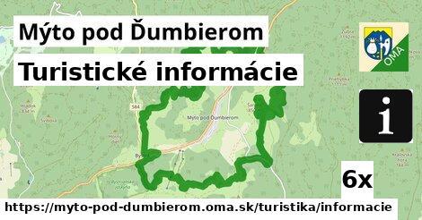 ilustračný obrázok k Turistické informácie, Mýto pod Ďumbierom