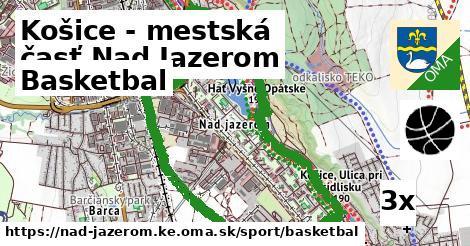 ilustračný obrázok k Basketbal, Košice - mestská časť Nad Jazerom