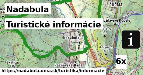 turistické informácie v Nadabula