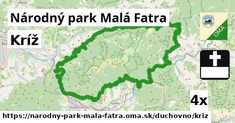 ilustračný obrázok k Kríž, Národný park Malá Fatra