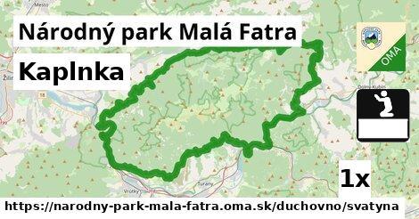 ilustračný obrázok k Kaplnka, Národný park Malá Fatra