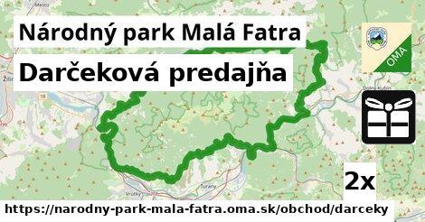 ilustračný obrázok k Darčeková predajňa, Národný park Malá Fatra