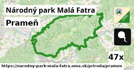 ilustračný obrázok k Prameň, Národný park Malá Fatra