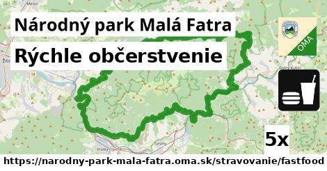 ilustračný obrázok k Rýchle občerstvenie, Národný park Malá Fatra