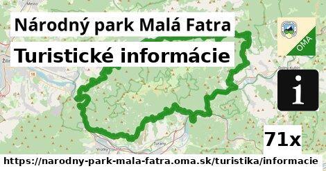 ilustračný obrázok k Turistické informácie, Národný park Malá Fatra