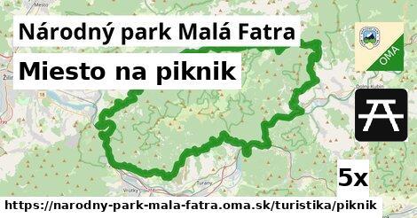 ilustračný obrázok k Miesto na piknik, Národný park Malá Fatra