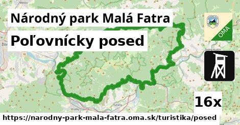 ilustračný obrázok k Poľovnícky posed, Národný park Malá Fatra