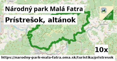 ilustračný obrázok k Prístrešok, altánok, Národný park Malá Fatra
