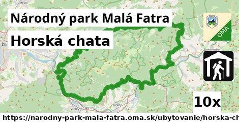 ilustračný obrázok k Horská chata, Národný park Malá Fatra