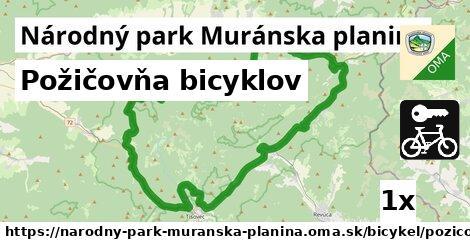 ilustračný obrázok k Požičovňa bicyklov, Národný park Muránska planina