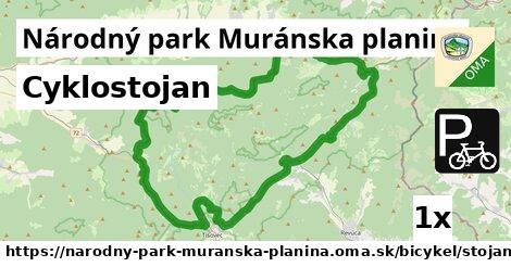 ilustračný obrázok k Cyklostojan, Národný park Muránska planina