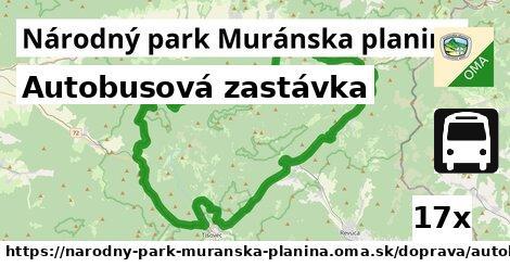 ilustračný obrázok k Autobusová zastávka, Národný park Muránska planina